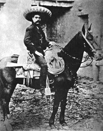 Pancho Villa Emiliano Zapata